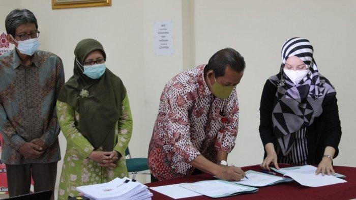 Rektor Universitas Ivet Semarang Sahkan Buku Panduan Merdeka Belajar Kampus Merdeka