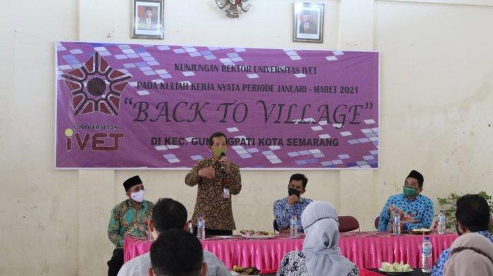 542 Mahasiswa Universitas Ivet Semarang Ikuti KKN Mandiri di Desa