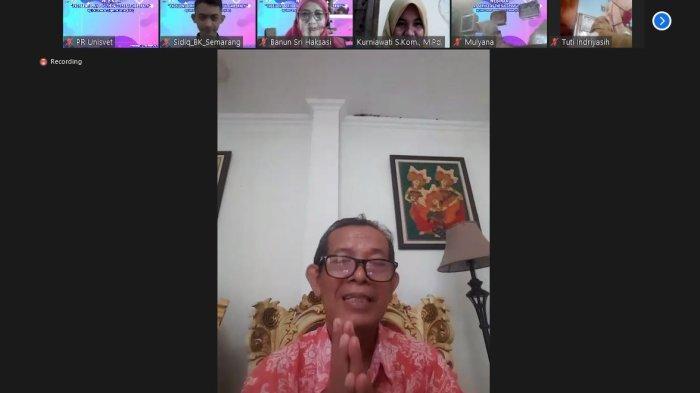 Unit Pengembangan Karir Universitas Ivet Semarang Gelar Webinar Kunci Sukses Meniti Karir