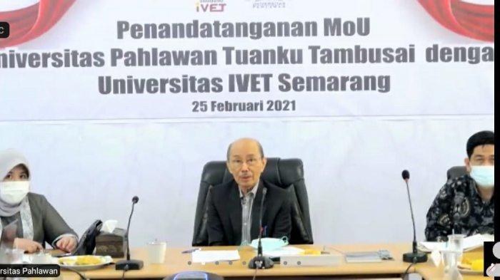 Kerjasama Universitas Pahlawan Tuanku Tambusai Riau & Universitas Ivet Bidang Pemanfaatan Pengajar