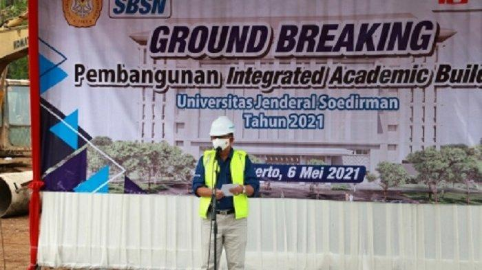 Unsoed Purwokerto Bangun Integrated Academic Building