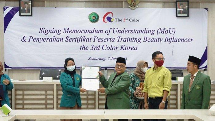 Unwahas Semarang Tingkatkan Kerja Sama Internasional dengan Berbagai Perguruan Tinggi
