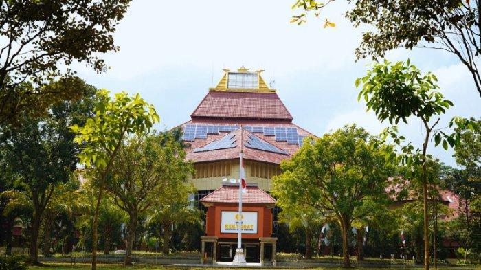 Gedung Rektorat Kampus Unnes