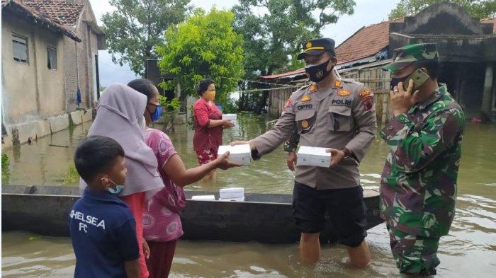 Sungai Piji Meluap, 2.054 KK Terdampak Banjir di Kecamatan Mejobo