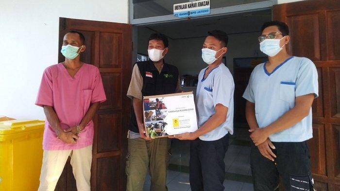 Relawan Pemakaman Pasien Covid Kendal Dapat Kejutan Kado