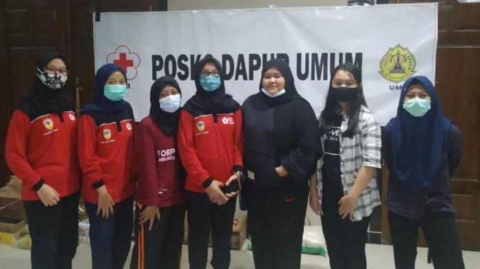 Inilah Srikandi-Srikandi Cantik Relawan Dapur Umum Universitas Semarang