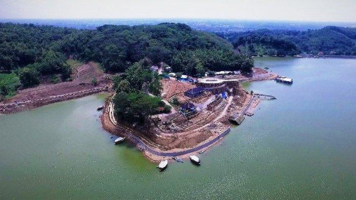 Remedial Bendungan Cacaban Tegal Capai 56 Persen, Ditargetkan Rampung Januari 2022.