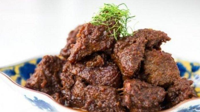 Cari Ide Daging Kurban Mau Dimasak Apa? Ini Resep Rendang Makanan Terenak No 1 di Dunia