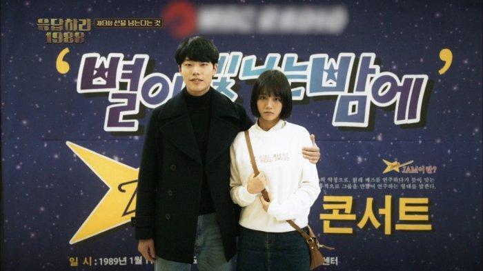 Jung Hwan dan Deok Sun Nonton Konser Sinopsis Drakor Reply 1988 Episode 9