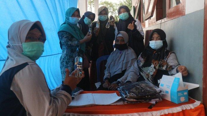 Mahasiswa KKN Undip Semarang Manfaatkan Ekstrak Biji Kopi Jadi Hand Sanitizer Sensasi Lembut
