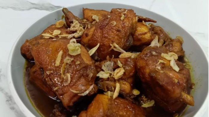 Resep Ayam Kecap Menu Simple Makan Siang
