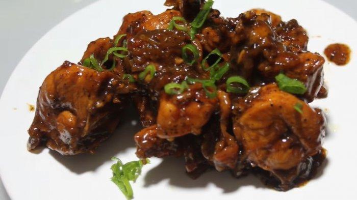 Resep Ayam Lada Hitam Menu Praktis Makan Siang
