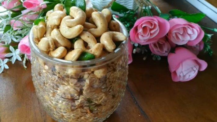 Resep Kacang Mete Goreng Bawang Super Renyah, Sajian Spesial Lebaran