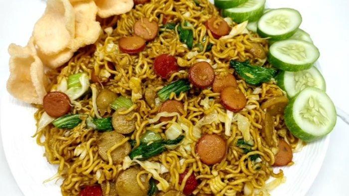 Resep Mi Goreng Ala Pedagang Kaki Lima Cocok untuk Makan Malam
