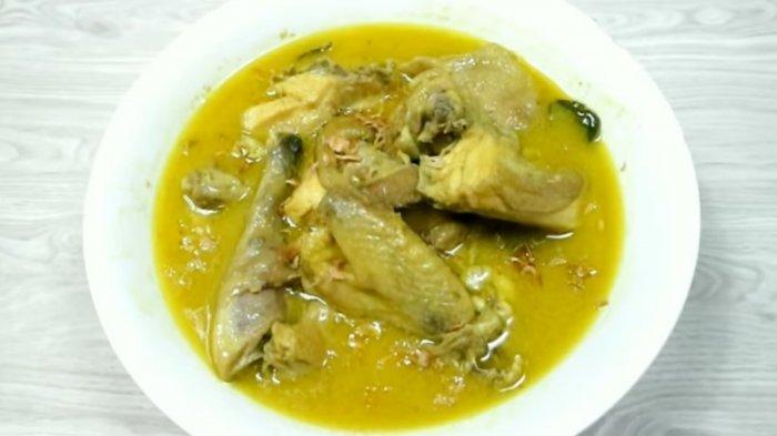 Resep Opor Ayam Kampung Spesial untuk Hari Lebaran