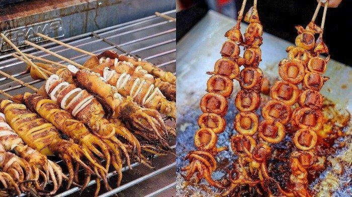 Resep Sate Cumi untuk BBQ di Malam Tahun Baru
