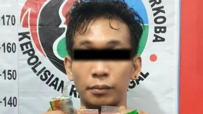 Resnarkoba Polres Tegal Bekuk Pengedar Sabu yang Menyasar Anak Muda, Satu Pelaku Kabur