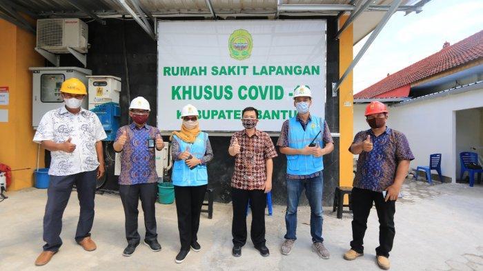 Respon Cepat PLN Layani RS Lapangan Khusus Covid-19 di Bantul
