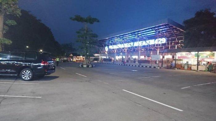 Begini Suasana Rest Area Tol Km 429 Semarang-Solo saat PPKM Darurat, Sepi Kendaraan dan Pengunjung