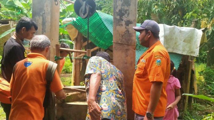 Rika Kecemplung Sumur, Ayahnya Panik Baru Pulang Kerja, BPBD Kudus Gerak Cepat