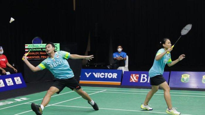 Hasil Sudirman Cup 2021 Greysia/Apriyani dan Rinov/Pitha Sempurnakan Comeback Indonesia Lawan Kanada