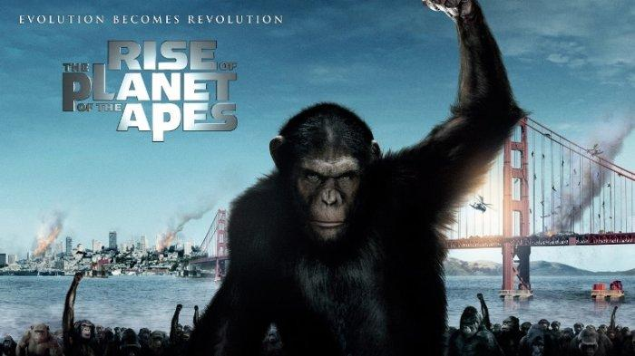 Sinopsis Rise of the Planet of the Apes, Tayang di Big Movies GTV Malam Ini Jam 21.30 WIB