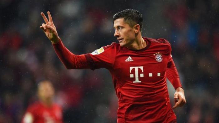 Robert Lewandowski Pencetak Gol Terbanyak Sementara Liga Jerman
