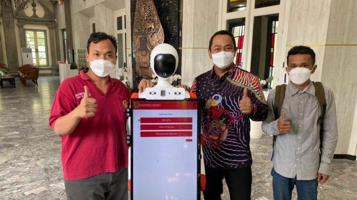 Hendi Siapkan Robot Penerima Tamu di Kantor Wali Kota Semarang