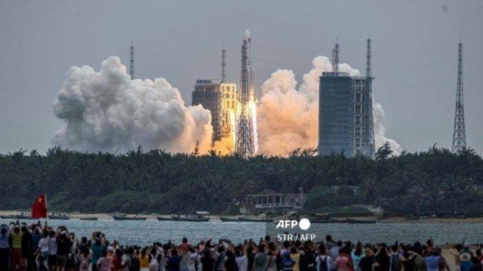 Puing Roket China Diperkirakan Jatuh di Samudera Hindia