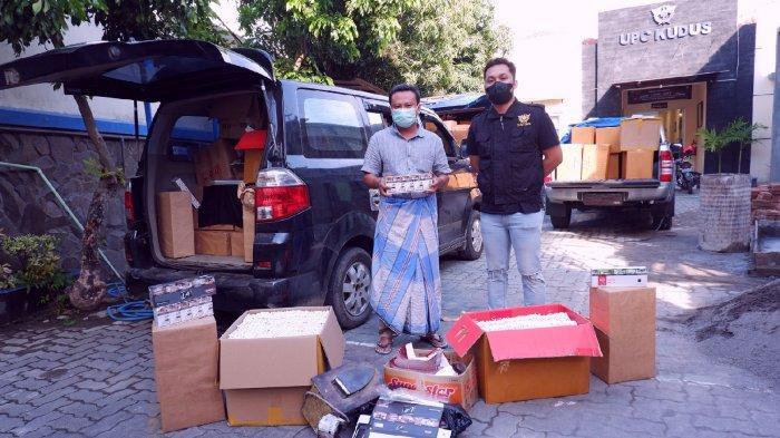 Bea Cukai Temukan 918 ribu Batang Rokok Ilegal Selepas Subuh
