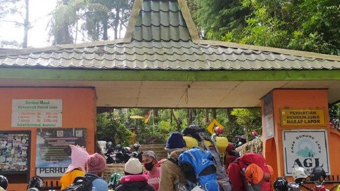 Jumlah Pendaki di Gunung Lawu Jalur Wilayah Karanganyar Mulai Alami Peningkatan