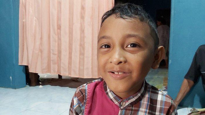 Kristian Ronaldo warga Desa Wonoyoso GG 15, RT 16 RW 6, Kecamatan Buaran, Kabupaten Pekalongan, Jawa Tengah yang viral di sosial media.