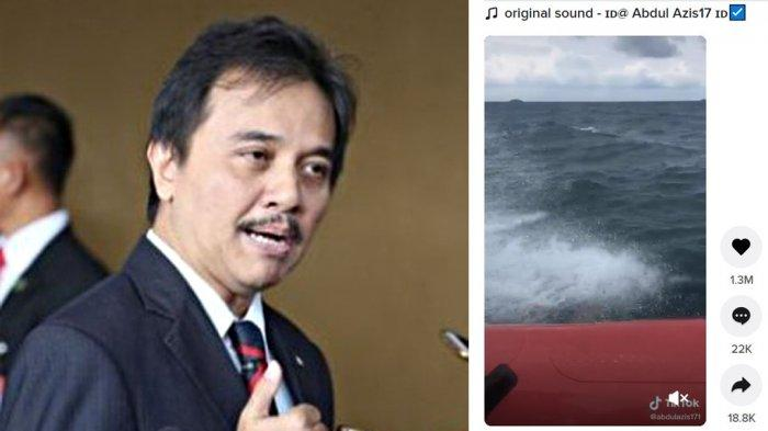Roy Suryo Sebut Video 18 Detik Asli, Suara Minta Tolong Diduga Korban Sriwijaya Air Berasal Dari Ini