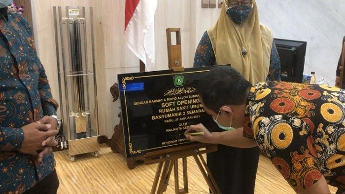 Wali Kota Semarang Hendrar Prihadi Resmikan RSU Banyumanik 2 Semarang