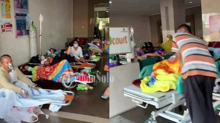 Viral Video RSUD Dr Moewardi Solo Penuh, Pasien Positif Covid-19 Antre Dekat IGD