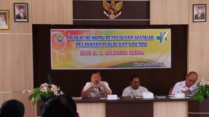 Dengar Pendapat Publik, RSUD Dr Soewondo Terima Banyak Keluhan Masyarakat