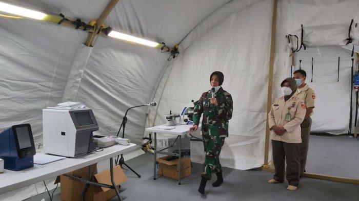 Kondisi ruang perawatan Rumah sakit lapangan (Rumkitlap) Darurat Corona di Benteng Vastenburg, Kamis (11/2/2021)