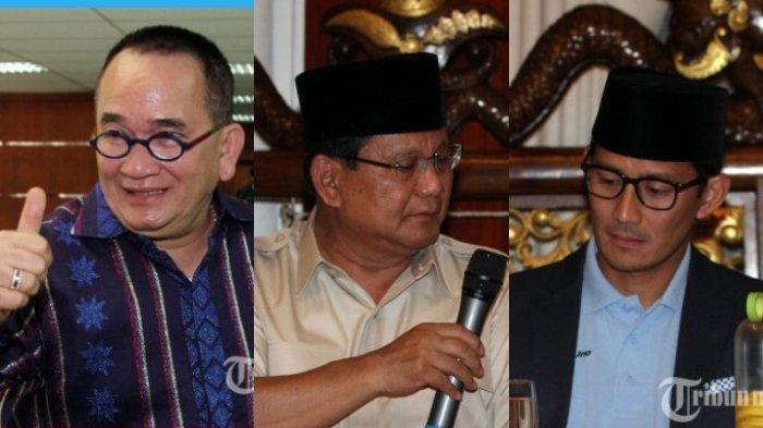 Ruhut Sitompul: Pak Prabowo dan Sandiaga Hati-hati Mulutmu Harimaumu