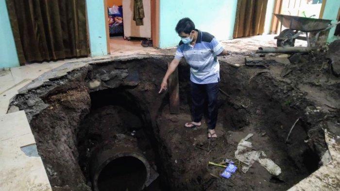 Pemdes Traji Kecamatan Parakan Temanggung Kaji Normalisasi Saluran Air di Bawah Rumah Warga