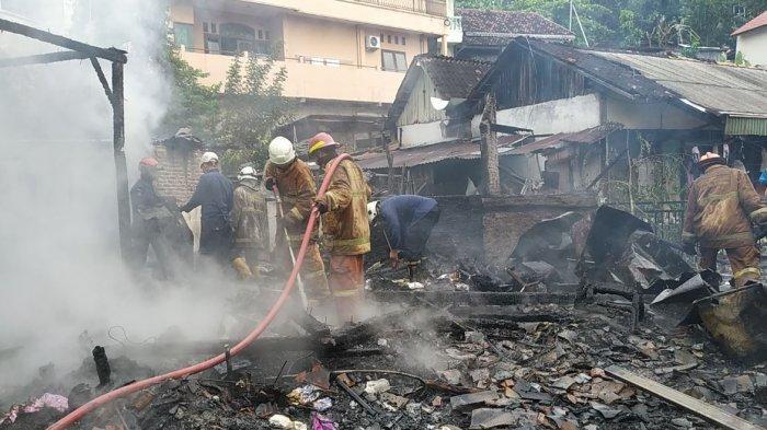 Tiga Petak Kontrakan di Semarang Ludes Dilalap Api, Pemilik Tahu dari Teriakan Mak Gik