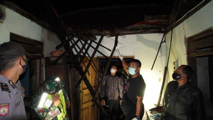 Asik Nonton TV, Fauziah Dengar Suara Bising di Belakang, Ternyata Rumahnya Terbakar