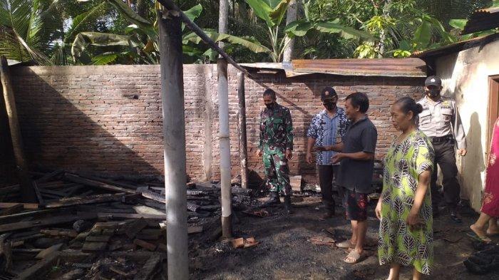 Bakar Sampah tak Dikontrol, Rumah Ngadiman di Kebumen Terbakar