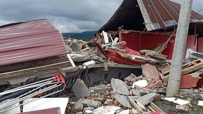 Gempa Kembali Terjadi di Majene, Hancurkan Bangunan yang Sebelumnya Hanya Rusak Ringan