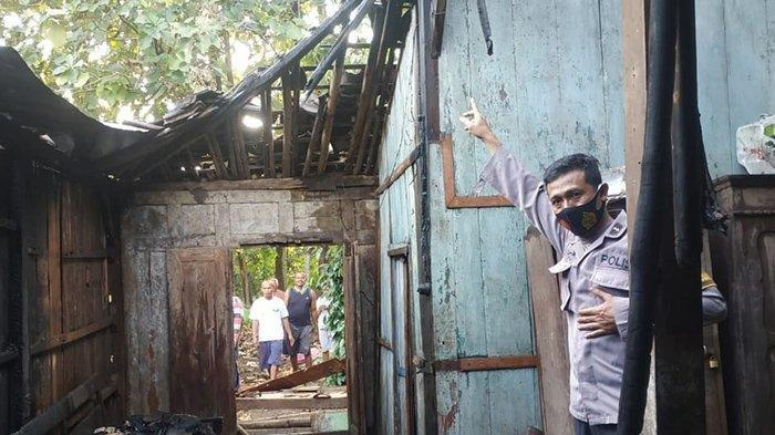 Kisah Pilu Mbah Wiryo Sragen Rumah Terbakar, Uang Rp 17 Juta Juga Ikut Terbakar Jadi Abu