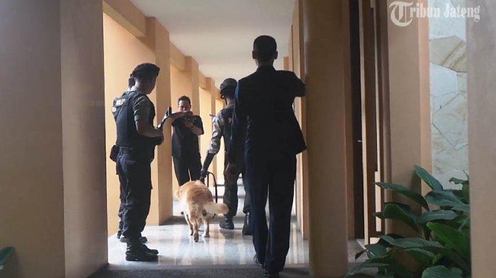 VIDEO Begini Sabhara Polres Salatiga Sterilisasi Hotel Jelang Tahun Baru