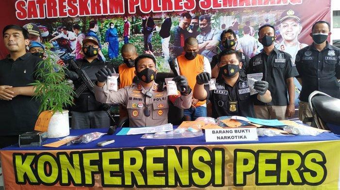 Polisi Temukan Ratusan Gram Sabu di Pohon Bambu Ngadiman Semarang