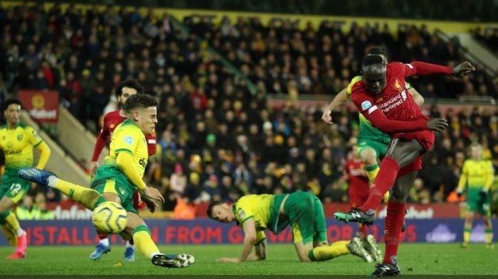 Head to Head Norwich City Vs Liverpool Piala Liga Inggris, The Reds Terlalu Tangguh untuk Canaries