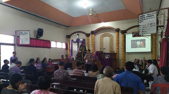 Jaga Toleransi, Safari Kamtibmas Polres Salatiga Tidak Hanya Kunjungi Gereja Berjemaat Banyak