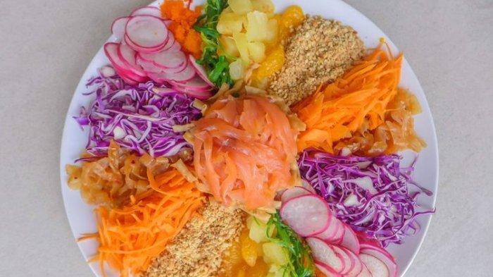 Resep Salad Yu Sheng Hidangan Spesial Imlek