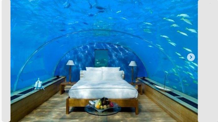Salah satu kamar di Deep Lovers, hotel termahal di dunia